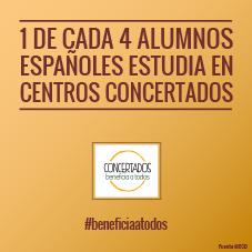 07 uno de cada cuatro españoles estudia en concertados