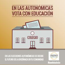 08 en las autonomicas vota con educacion
